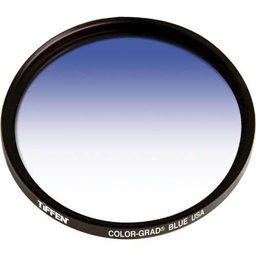 Tiffen 77mm Graduated Blue  Filter