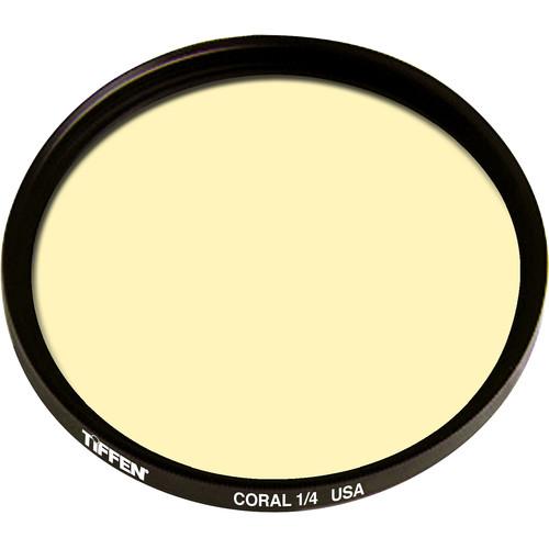 Tiffen 82mm 1/4 Coral Solid Color Filter
