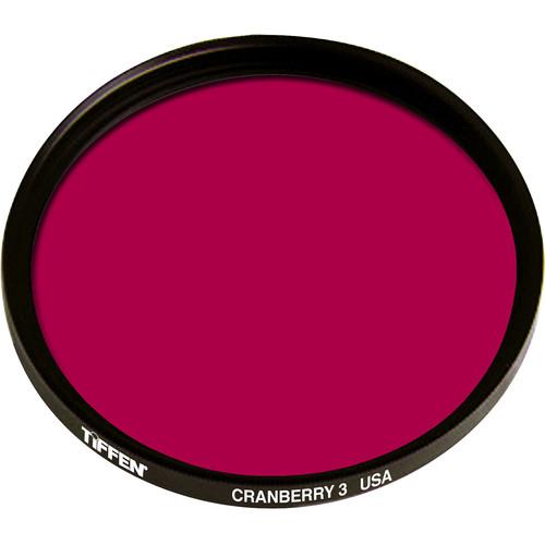 Tiffen 86mm Coarse Thread 3 Cranberry Solid Color Filter