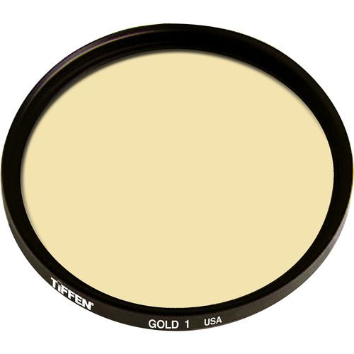 Tiffen 86C (Coarse Thread) Solid Gold 1 Glass Filter