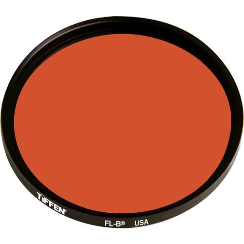 Tiffen 86M (Medium Thread) FL-B Fluorescent Filter for Tungsten Film