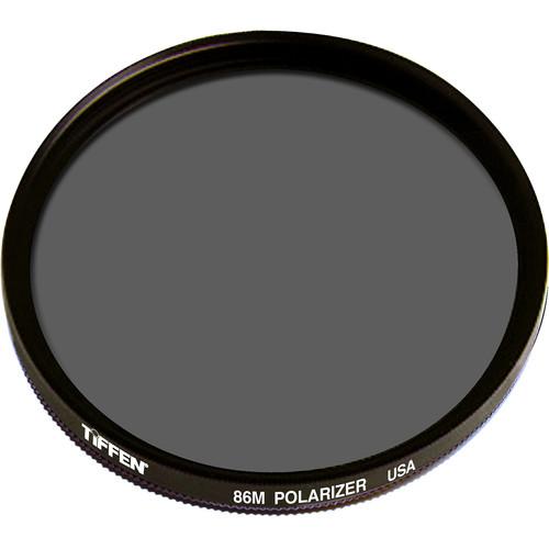 Tiffen 86M (Medium Thread) Polarizer Glass Filter