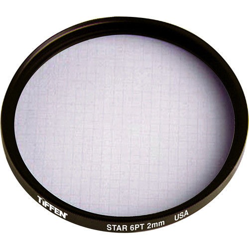 Tiffen 86mm Medium Thread 6 Point / 2mm Grid Star Effect Glass Filter