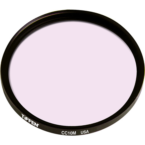 Tiffen 86mm Coarse Thread CC10M Magenta Filter