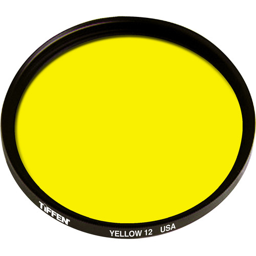 Tiffen #12 Yellow Filter (95C, Coarse Thread)