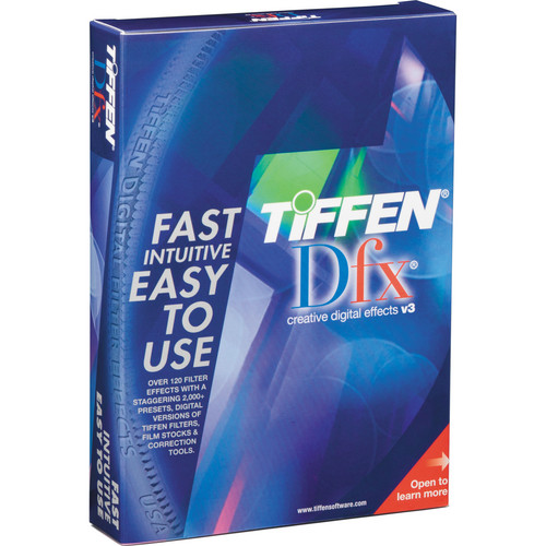 Tiffen Dfx v3 Video/Film Plug-in