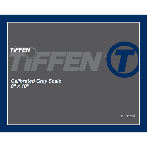"Tiffen Gray Scale (8 x 10"", Calibrated)"