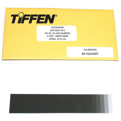 Tiffen #2 Photographic Step Tablet Calibration Device