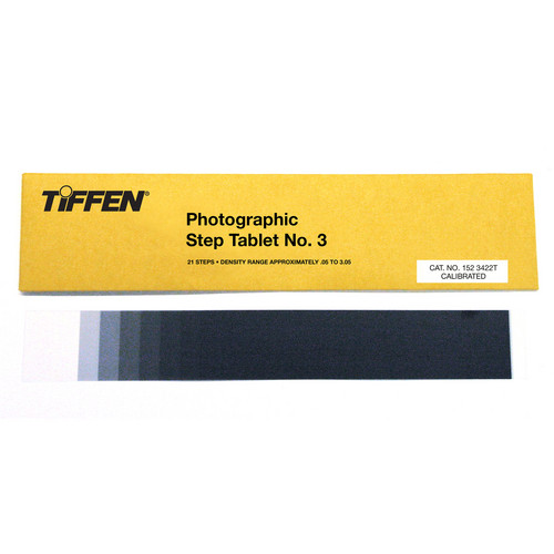 Tiffen #3 Photographic Step Tablet Calibration Device
