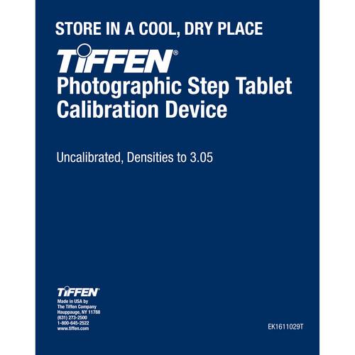 Tiffen EK1611029T Photographic Step Tablet Calibration Device