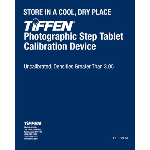 Tiffen EK1677905T Photographic Step Tablet Calibration Device