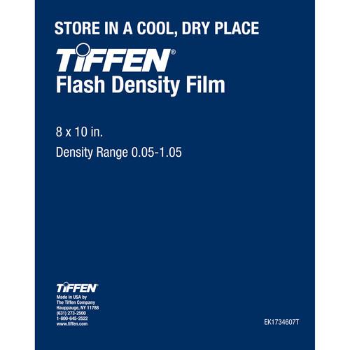"Tiffen Flash Density Film (0.01-1.05, 8 x 10"", One Sheet)"