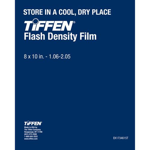 "Tiffen Flash Density Film (1.06-2.05, 8 x 10"", One Sheet)"