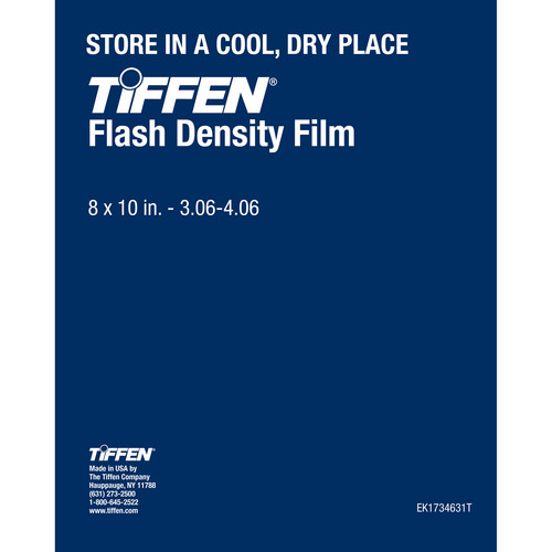 "Tiffen Flash Density Film (3.06-4.06, 8 x 10"", One Sheet)"