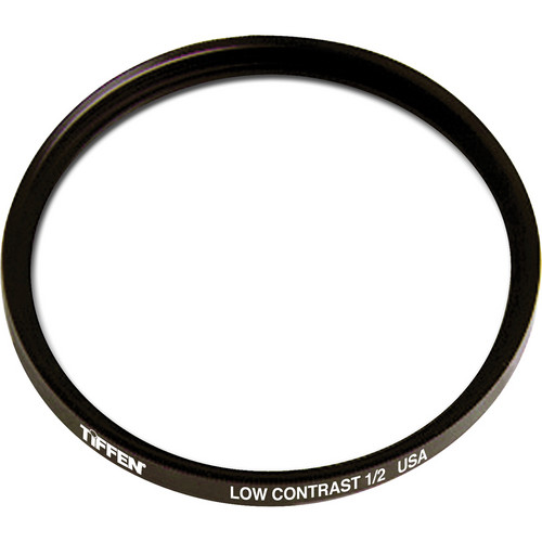 Tiffen Filter Wheel 3 Low Contrast 1/2 Glass Filter