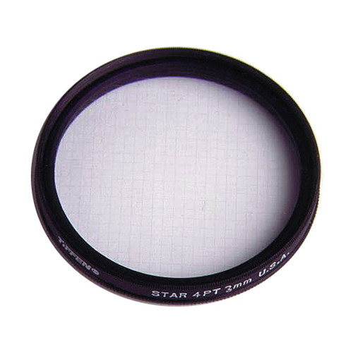 Tiffen Filter Wheel 3 3mm/4pt Grid Star Effect Glass Filter