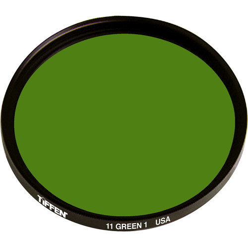 Tiffen #11 Green (1) Filter (Series 9)