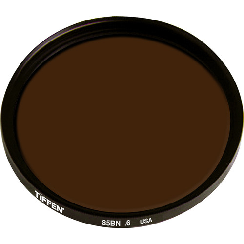 Tiffen Series 9 Combination Color Conversion 85B/Neutral Density (ND) 0.6 Glass Filter