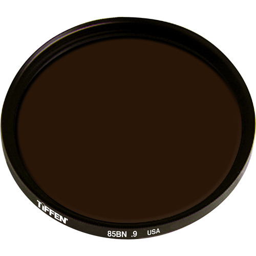 Tiffen Series 9 Combination Color Conversion 85B/Neutral Density (ND) 0.9 Glass Filter