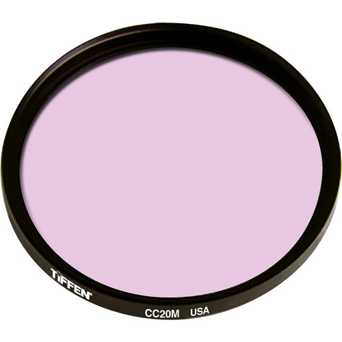 Tiffen Series 9 CC20M Magenta Filter