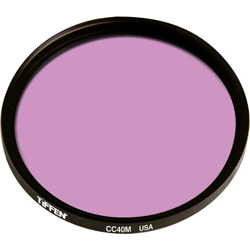Tiffen Series 9 CC40M Magenta Filter