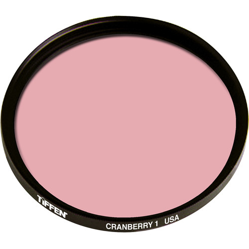 Tiffen Series 9 1 Cranberry Solid Color Filter