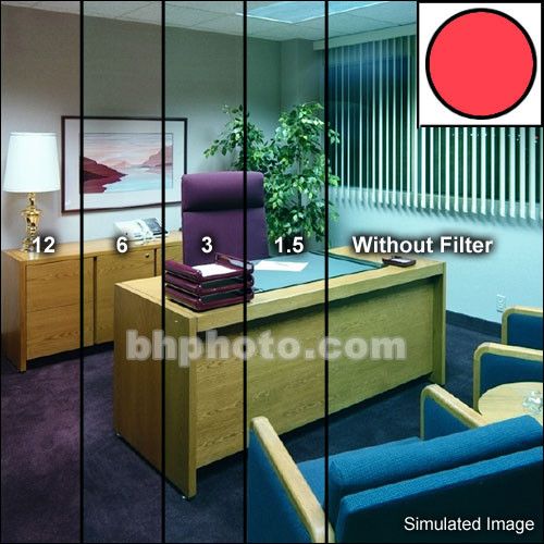 Tiffen Series 9 Decamired Red 3 (Warming) Glass Filter