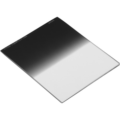 "Tiffen 3.3 x 3.9"" Soft Edge Graduated 0.9 ND Filter (Vertical Orientation)"