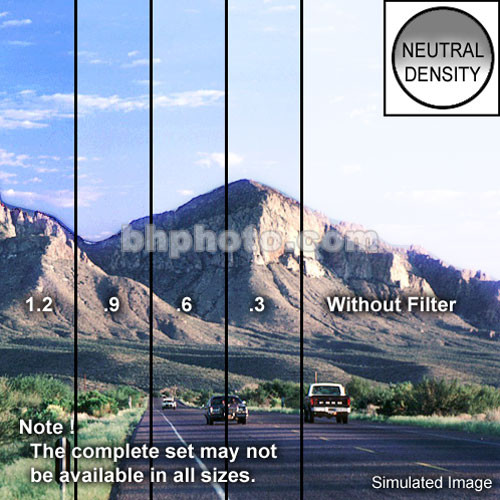 "Tiffen 3 x 4"" Soft Edge Graduated 0.6 ND Filter (Horizontal Orientation)"