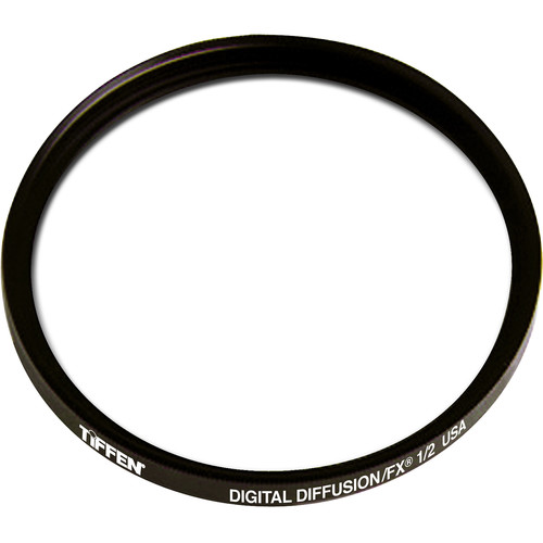 "Tiffen 4.5"" Round Digital Diffusion/FX 1/2 Filter"