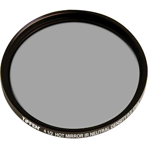 "Tiffen 4.5"" Round Infrared (IR) Neutral Density (ND) 0.3 Hot Mirror Filter"