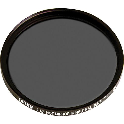 """Tiffen 4.5"""" Round Water White Glass Combination Hot Mirror/IRND 0.6 Filter (2-Stop)"""