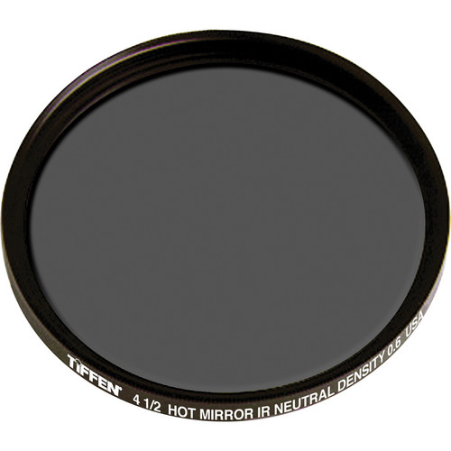 "Tiffen 4.5"" Round Infrared (IR) Neutral Density (ND) 0.6 Hot Mirror Filter"
