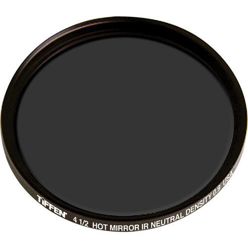 "Tiffen 4.5"" Round Infrared (IR) Neutral Density (ND) 0.9 Hot Mirror Filter"