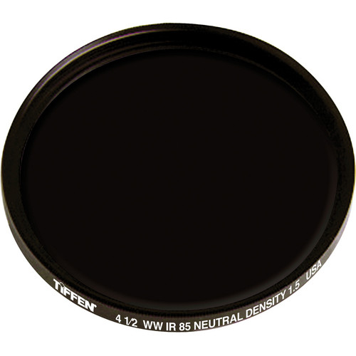 "Tiffen 4.5"" Round Combination Infrared 85 Neutral Density 1.5 (ND) Filter"