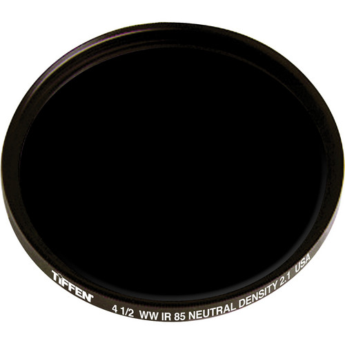 "Tiffen 4.5"" Round Combination Infrared 85 Neutral Density 2.1 (ND) Filter"