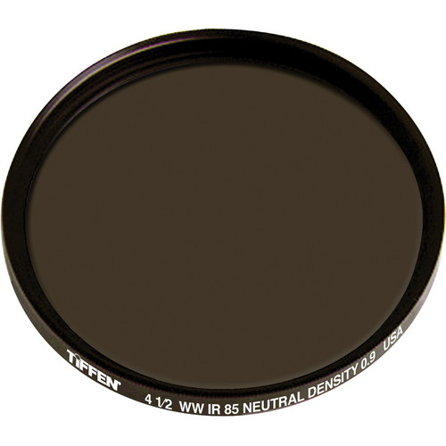 "Tiffen 4.5"" Round Combination Infrared 85 Neutral Density 0.9 (ND) Filter"