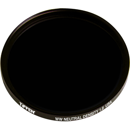"Tiffen 4.5"" Round Solid Neutral Density 1.8 Filter"