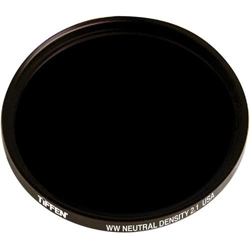 "Tiffen 4.5"" Round Water White Glass ND 2.1 Filter (7-Stop)"