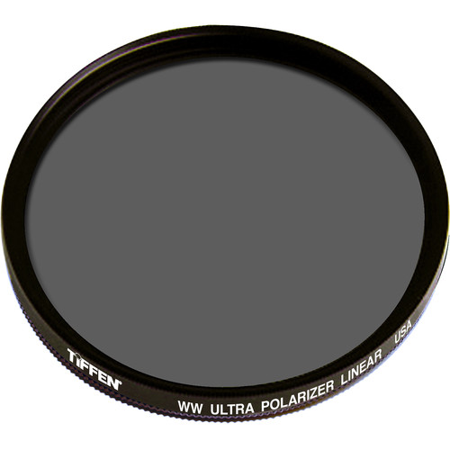 "Tiffen 4.5"" (Drop-in) Warm Linear Ultra Polarizing Water White Glass Filter"