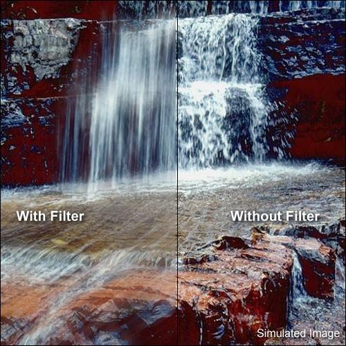 "Tiffen 4 x 4"" Water White Glass Combination Hot Mirror/IRND 1.5 Filter (5-Stop)"