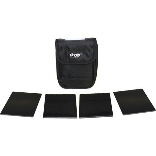"Tiffen 4 x 5.65"" Pro Indie HV ND Filter Kit (1, 2, 3, 4 Stops)"