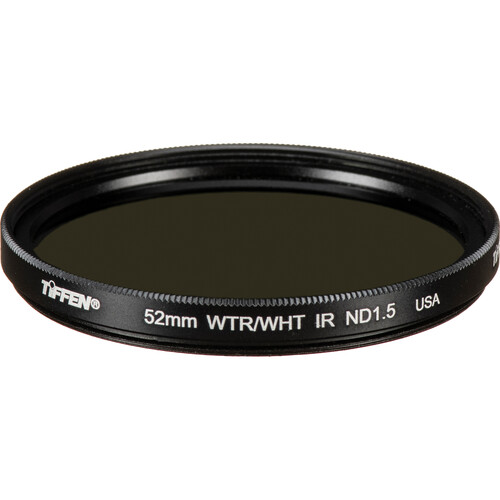 Tiffen 52mm Solid Neutral Density Infrared (IR) 1.5 Filter