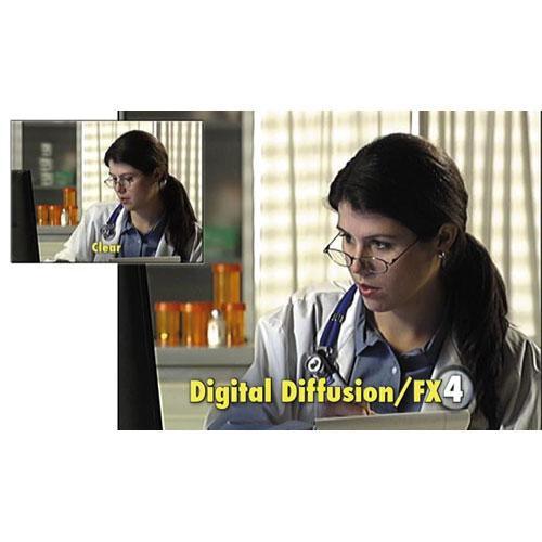 "Tiffen 6.6 x 6.6"" Digital Diffusion/FX 4 Filter"