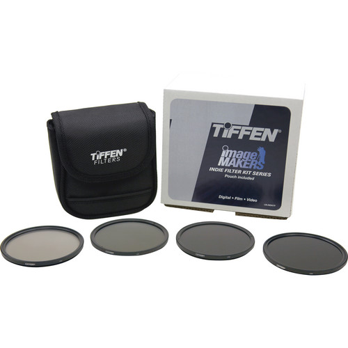 Tiffen 77mm Indie Upgrade Infrared/Neutral Density Filter Kit (1.5, 1.8, 2.1 IR/ND Filters)