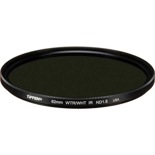 Tiffen 82mm Water White Glass IRND 1.8 Filter (6-Stop)