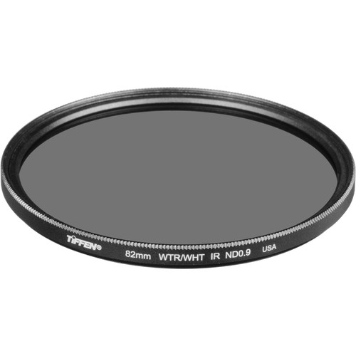 Tiffen 82mm Solid Neutral Density Infrared (IR) 0.9 Filter