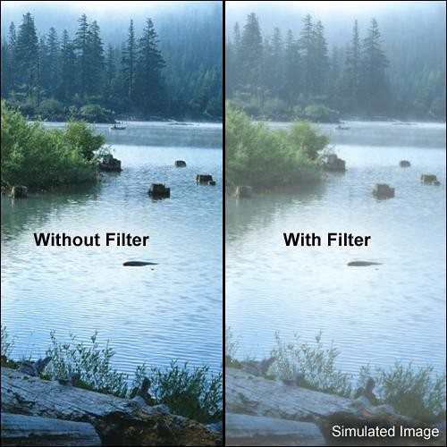"Tiffen 5.65 x 5.65"" Double Fog 1/4 Filter"
