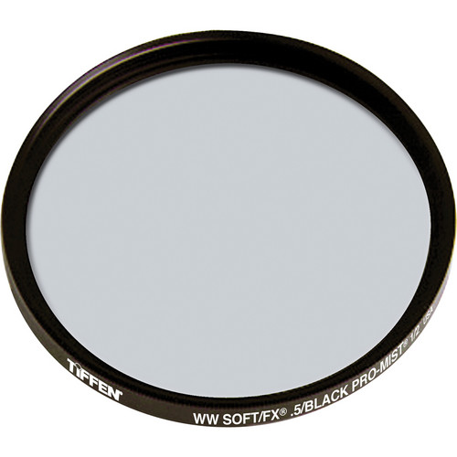 Tiffen 138mm Soft/FX Black Pro-Mist 1/2 Filter