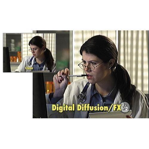 "Tiffen 4 x 5"" Digital Diffusion/FX 1/2 Filter"